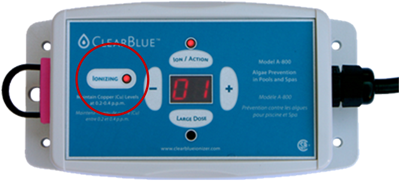 Pool Ionizer Ionizing